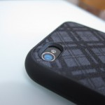 fitted for iphone 4 - Darkest Tartan Plaid